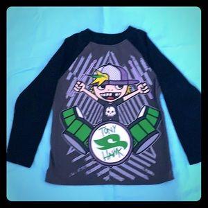 Boys Tony Hawk long sleeve shirt